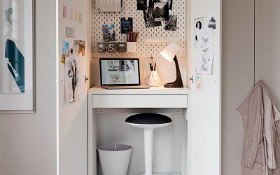 De beste bureaus voor de kleine thuiswerkplek